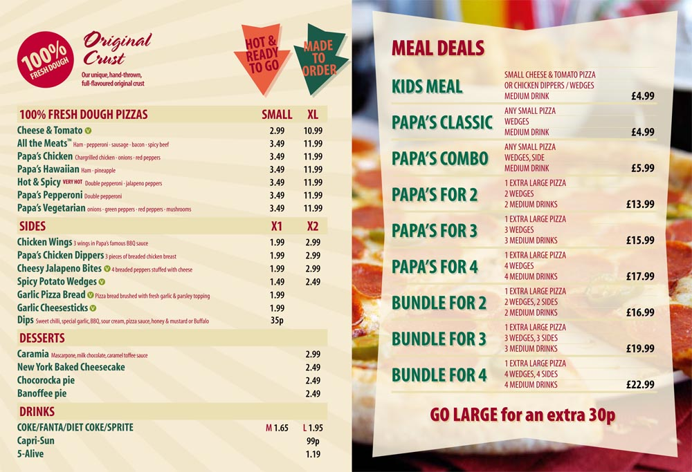 picture relating to Papa Johns Printable Menu referred to as 100+ Papa John S Menus Salad yasminroohi